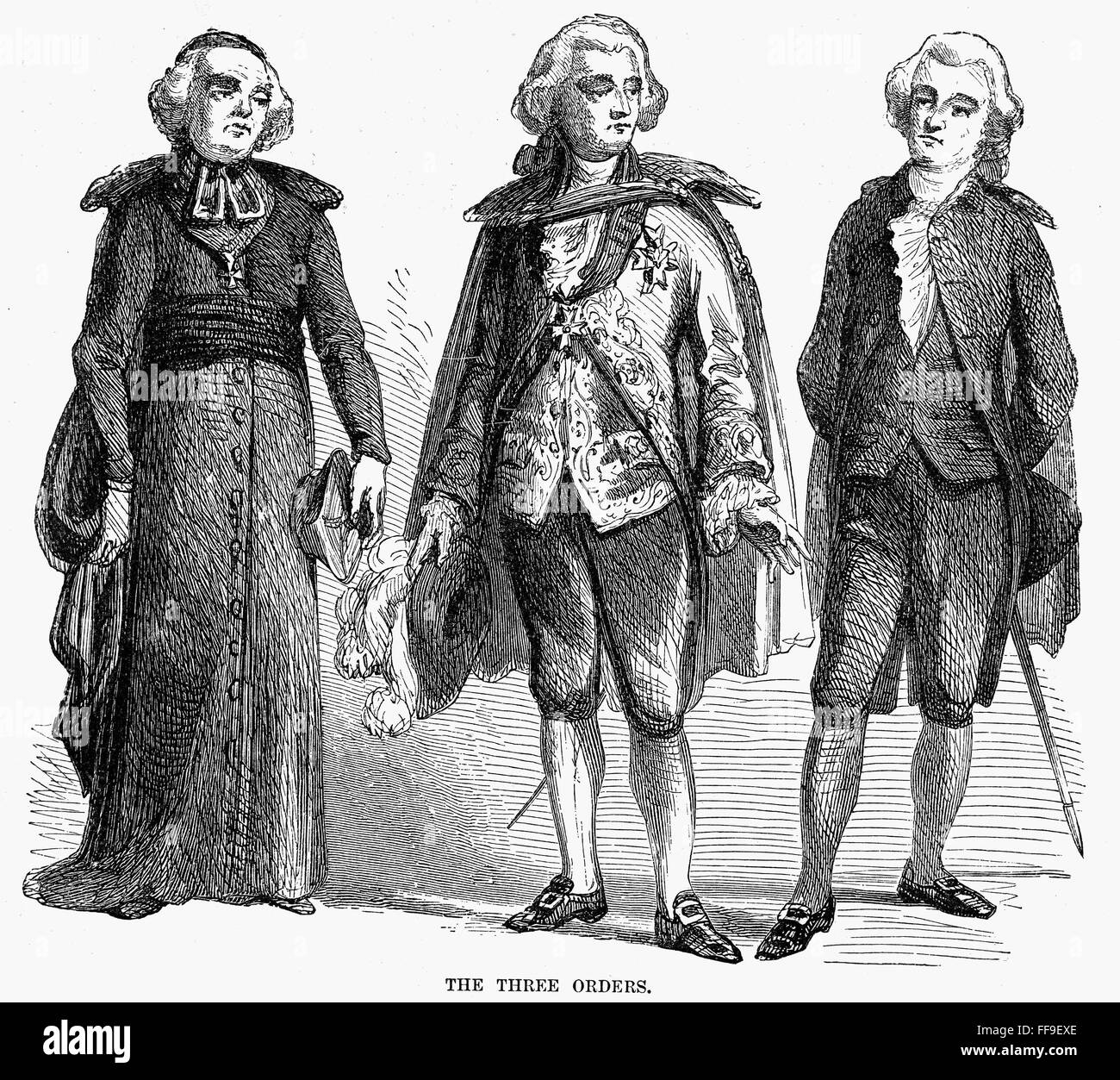 french society orders nthe orders of the clergy nobility and french society orders nthe orders of the clergy nobility and middle class in 18th century pre revolutionary wood engraving american