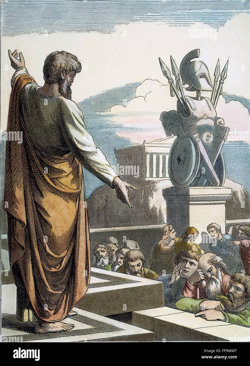 SAINT PAUL AT ATHENS NSaint Paul Preaching At Athens
