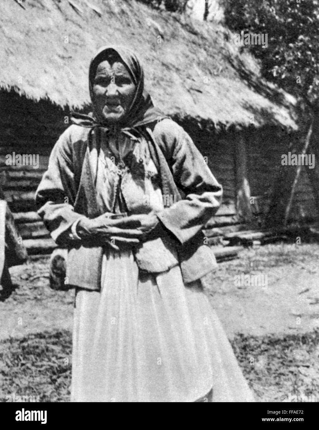The Russian Peasant Woman Of 5