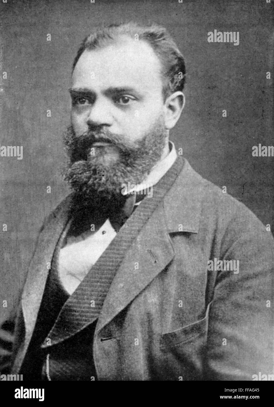 Antonin dvorak 1841 1904 nczech composer stock photo for Mobel dvorak