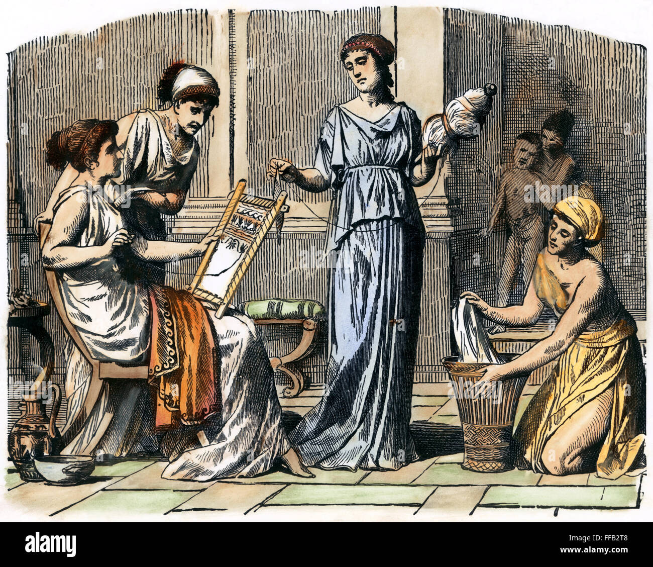 an account of a womans daily life in ancient rome Buy daily life in ancient rome: the people and the city at the height of the  empire  slaves, gladiators, ordinary men and women  the romans by  professor  and a good detailed account fro academic writers about life in  ancient rome.