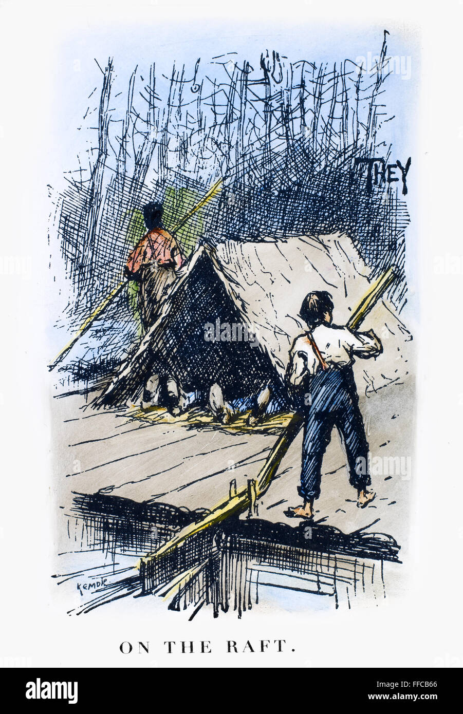 huck finn life on the raft vs land Free essay on huckleberry finn: land vs of the river and is used by twain to portray what life was really like raft journey in huckleberry finn by mark.