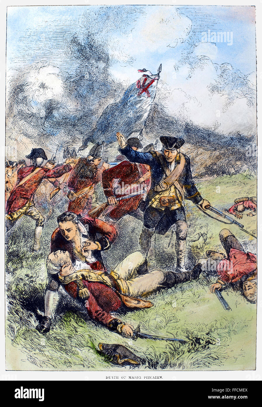account of the battle of bunker hill during the american revolution The true story of the battle of bunker hill  he revisits the beginnings of the american revolution,  which is why the bunker hill battle is pivotal the chaotic skirmishing at lexington and.