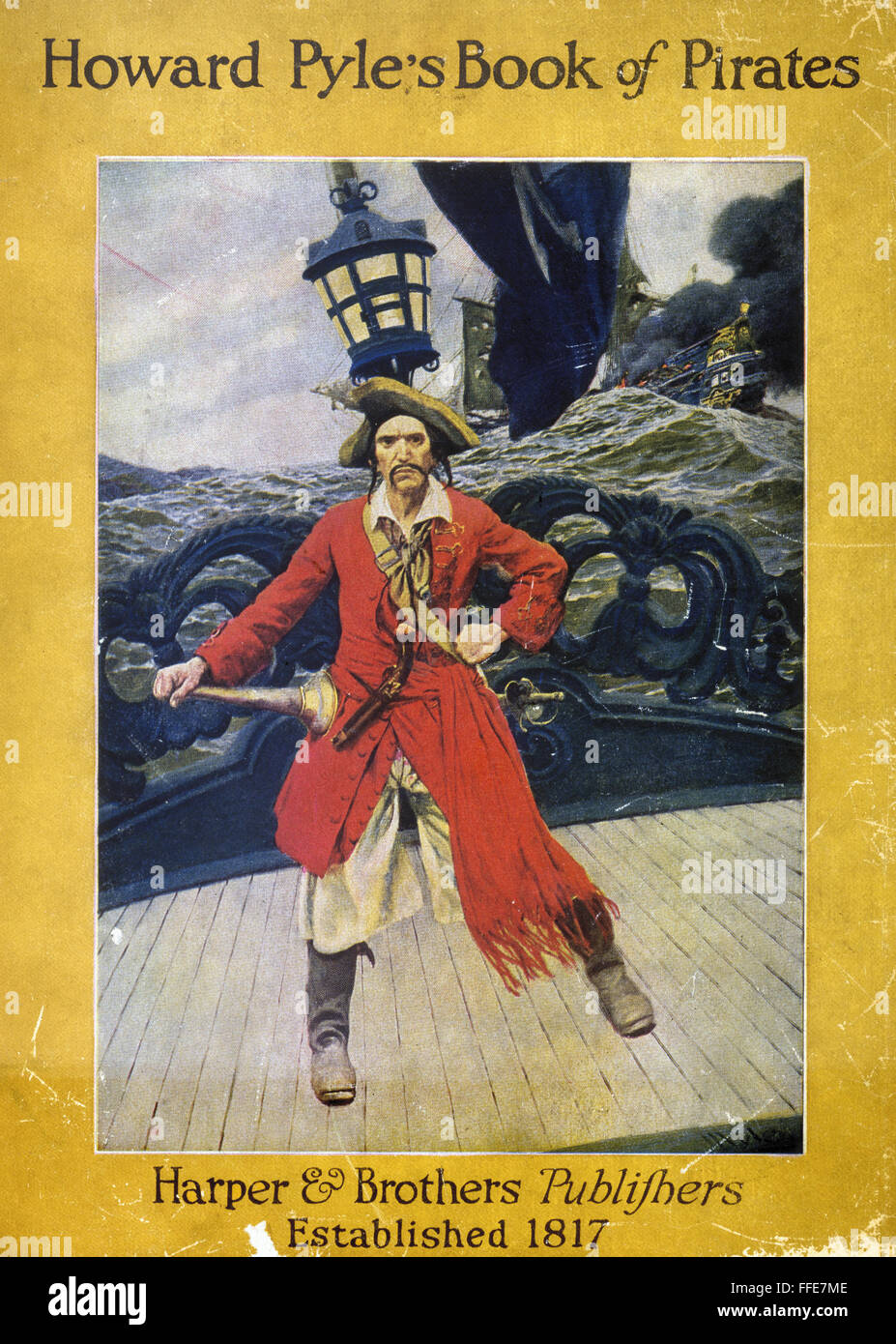 howard pyle pirate ncover of u0027howard pyle u0027s book of pirates