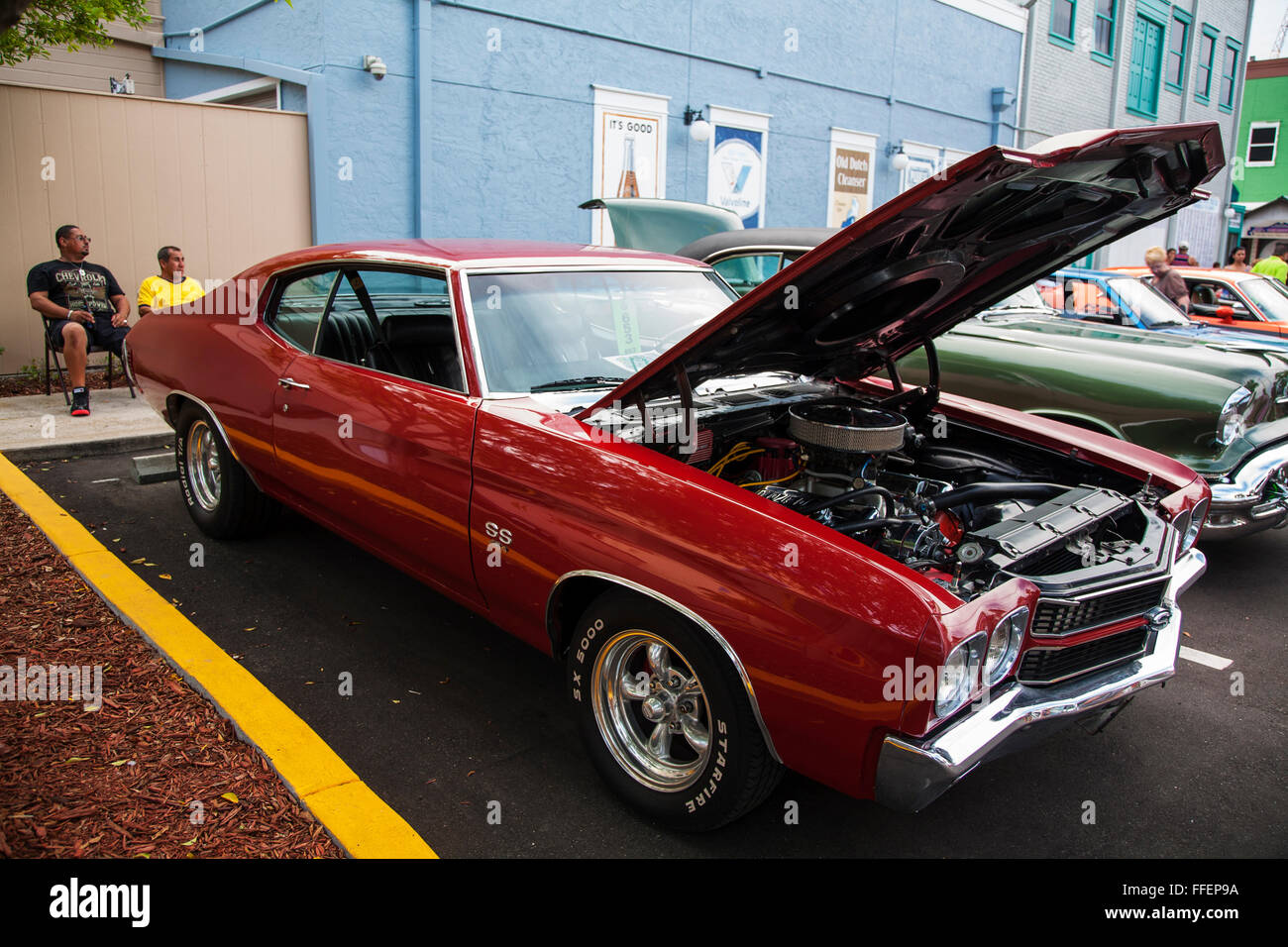 Chevrolet Chevelle SS 454 at Kissimmee Old Town weekly car cruise ...