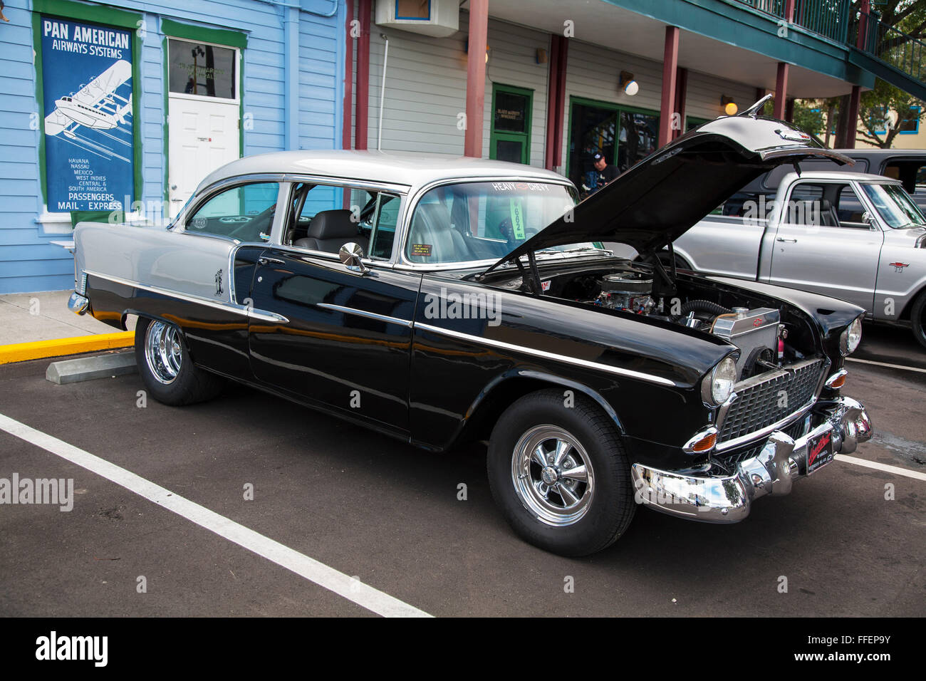 Chevrolet Bel Air at Kissimmee Old Town weekly car cruise, Kissimmee ...