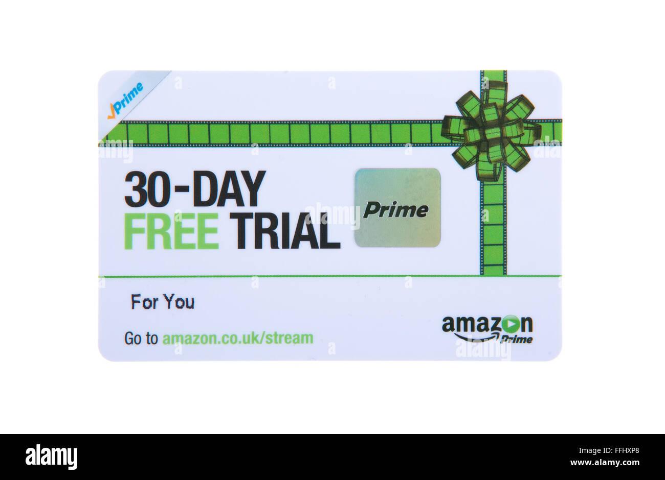 30 day free trial card for amazon prime stock photo royalty free 30 day free trial card for amazon prime buycottarizona