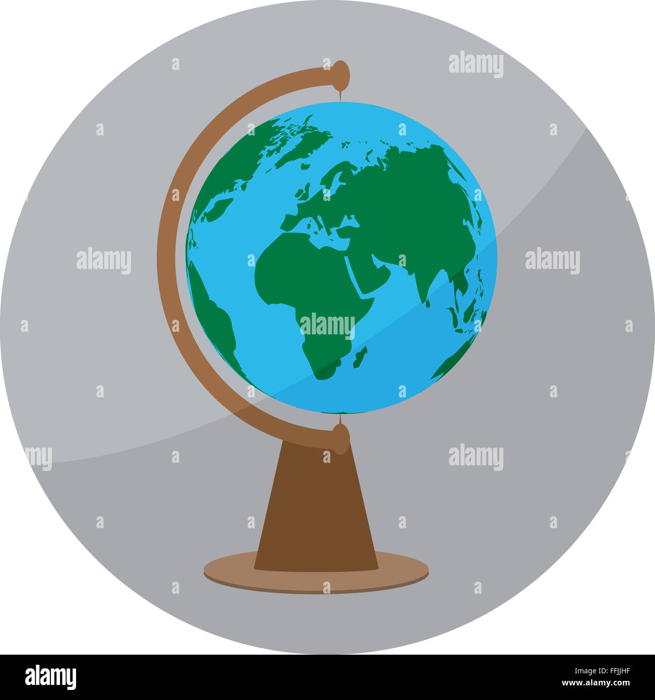 Icon globe sign globe badge app sphere ball world earth map globe badge app sphere ball world earth map geography travel vector abstract flat design illustration gumiabroncs