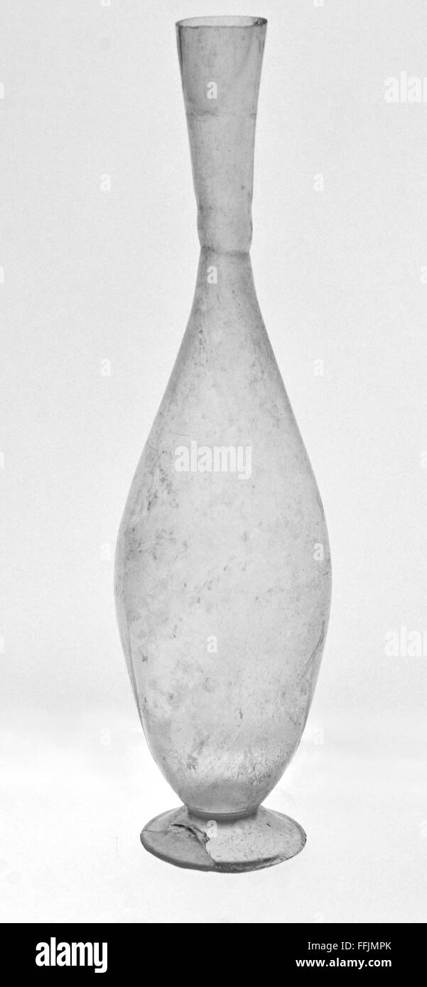 Ancient roman flower vase in clear glass stock photo royalty free ancient roman flower vase in clear glass reviewsmspy