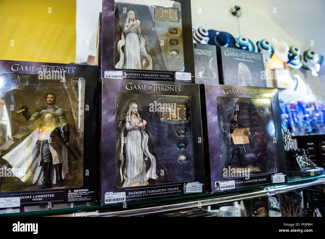 Daenerys Targaryen and Jaime Lannister figures from Game of ...