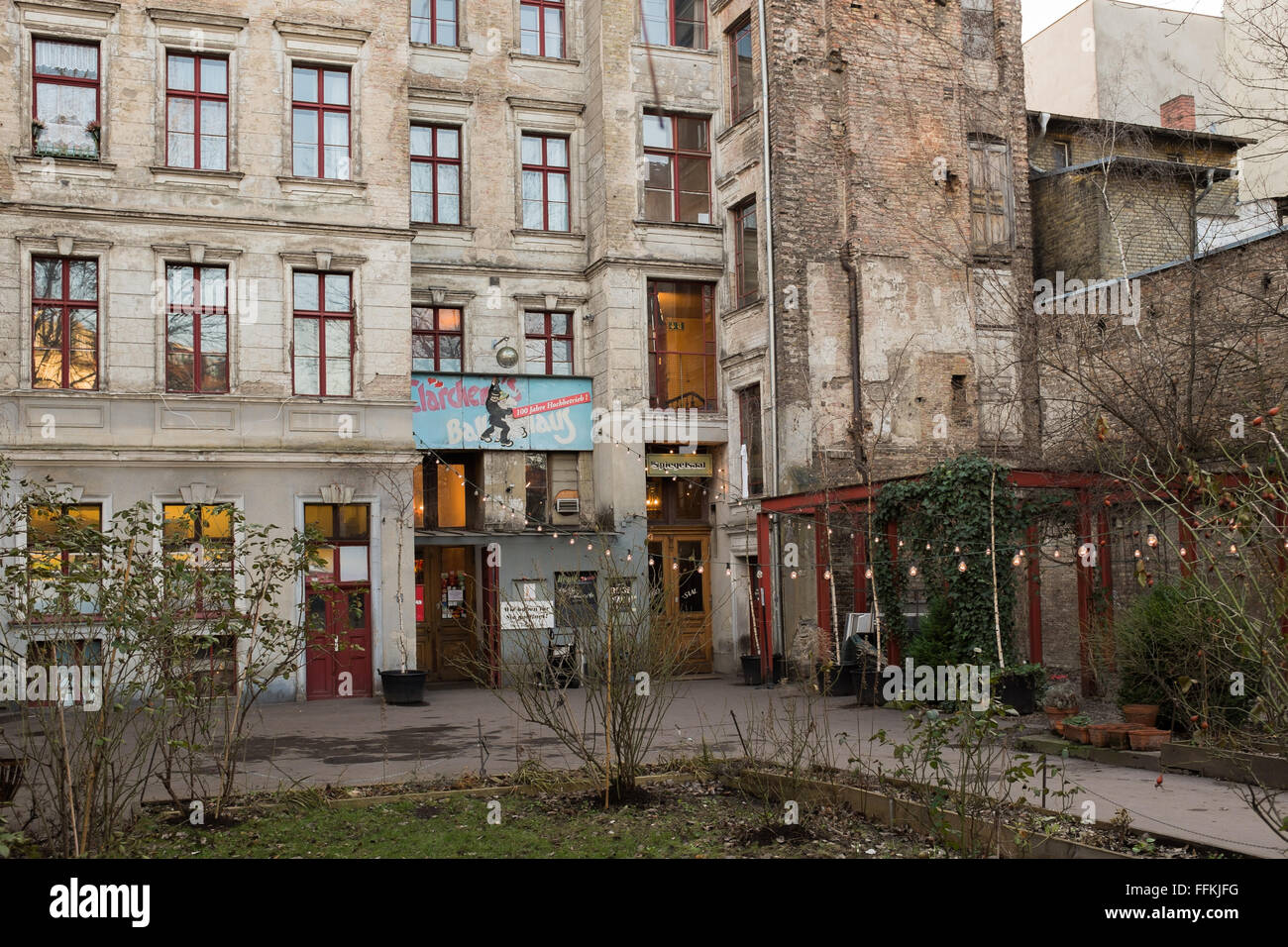 berlin 28 january the clarchens ballhaus auguststrasse berlin stock photo royalty free image. Black Bedroom Furniture Sets. Home Design Ideas