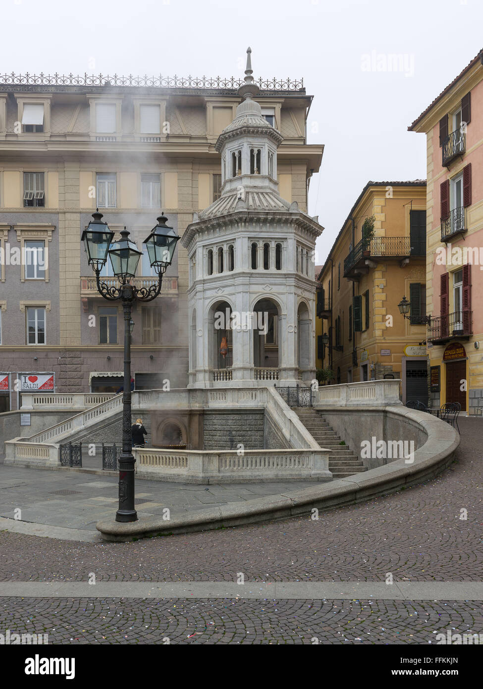 Famous fountain called la bollente known since roman times famous fountain called la bollente known since roman times symbol of acqui terme in piedmont biocorpaavc Choice Image