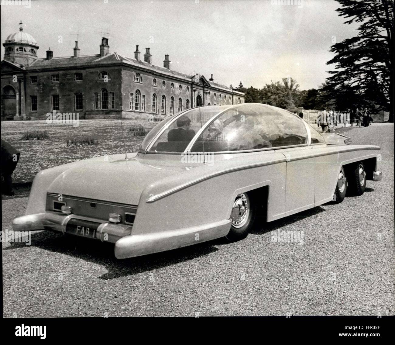 1966 the world 39 s biggest and most expensive car the gabulous fab stock photo royalty free. Black Bedroom Furniture Sets. Home Design Ideas