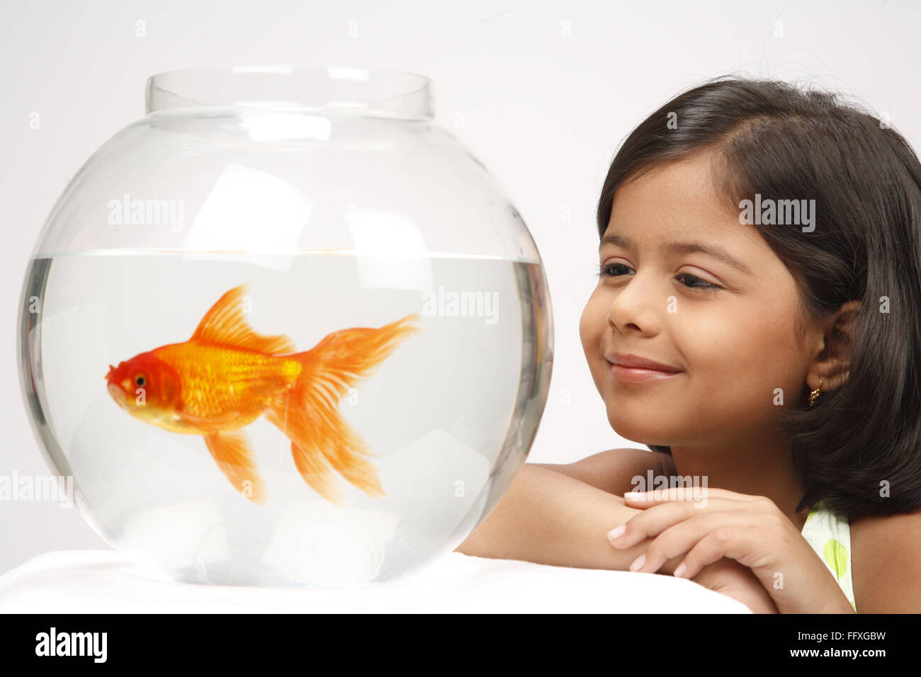 Fish In Girl