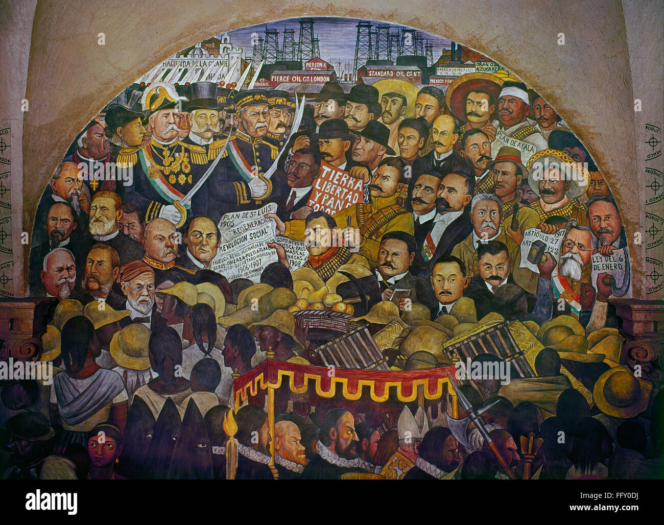 Diego rivera mural 1929 diego rivera the history of for Diego rivera mural 1929
