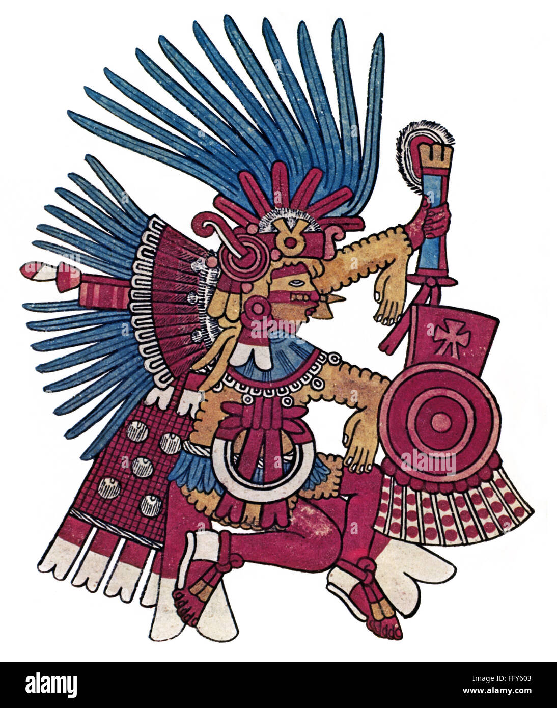 Aztec God Of War Huitzilopochtli | www.imgkid.com - The ...