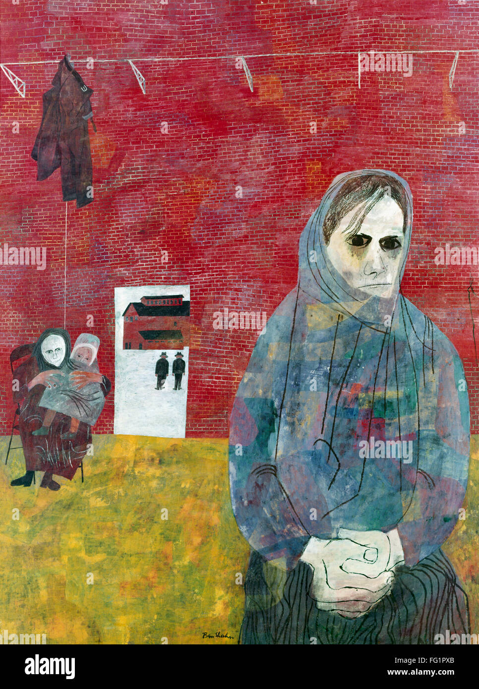 The miners wives an analysis of ben shahns painting