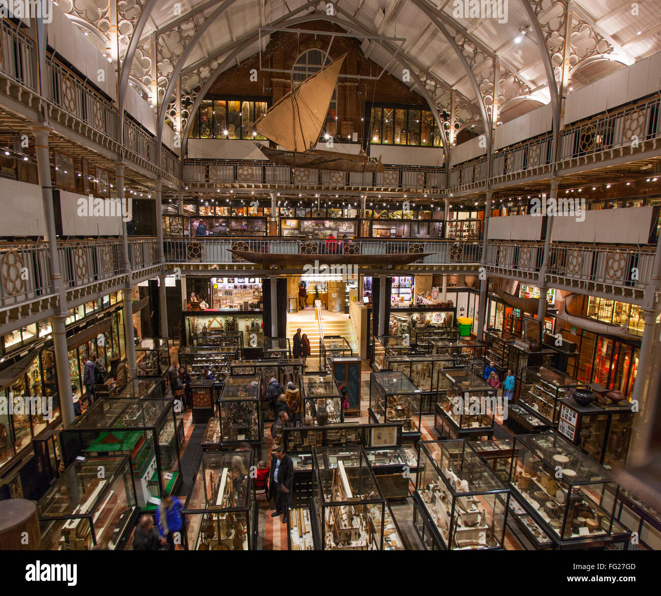 Panoramic Photo Of The Pitt Rivers Museum In Oxford UK Located - Where is oxford located