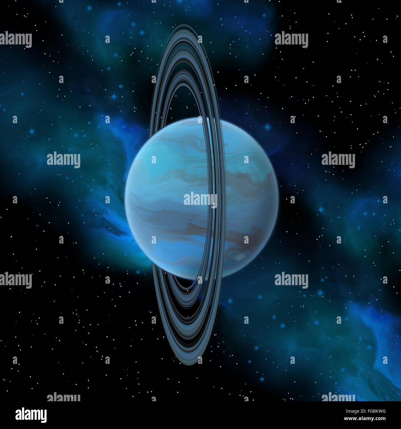 Solar system uranus planet