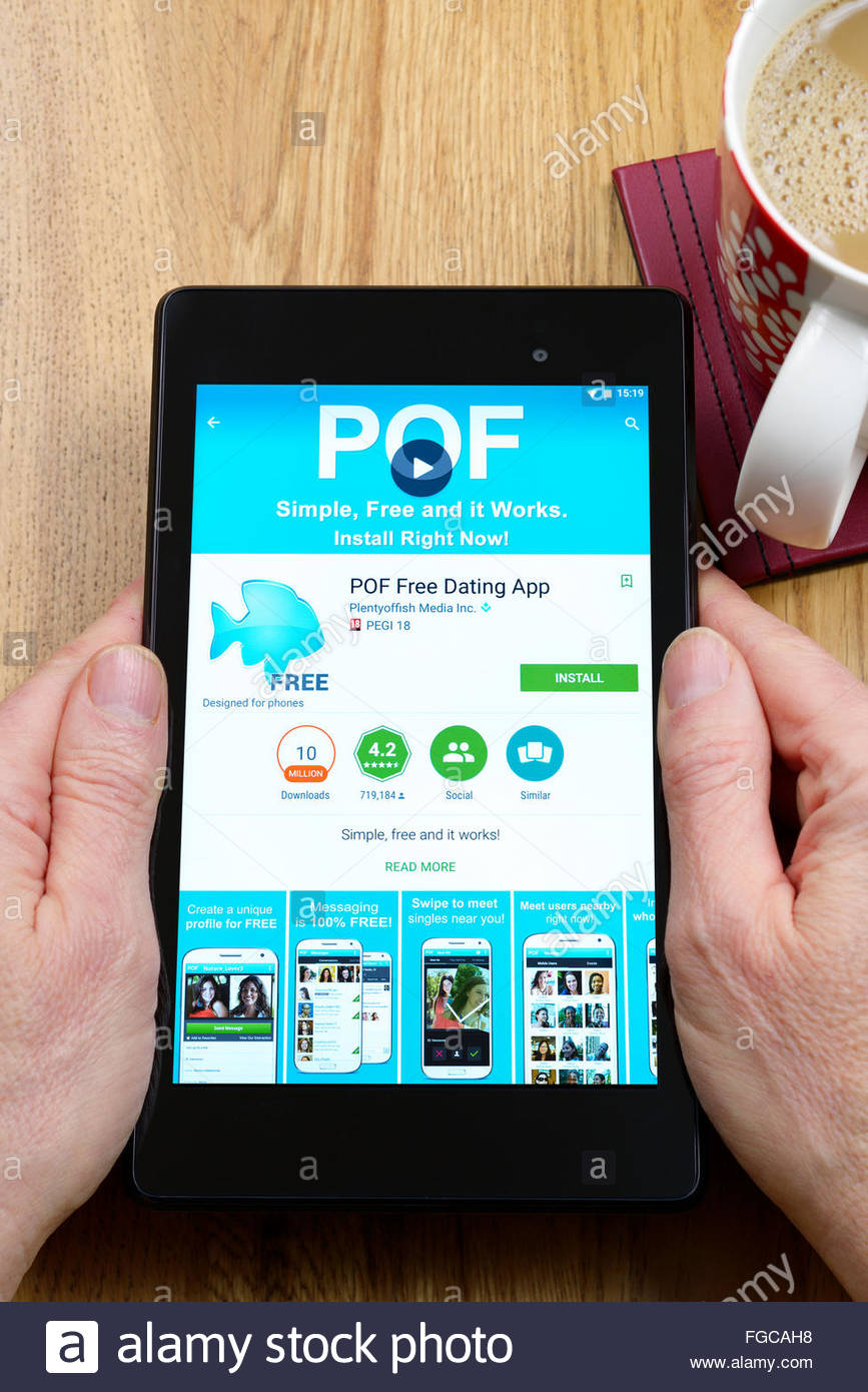 Pof Mobile App für Android