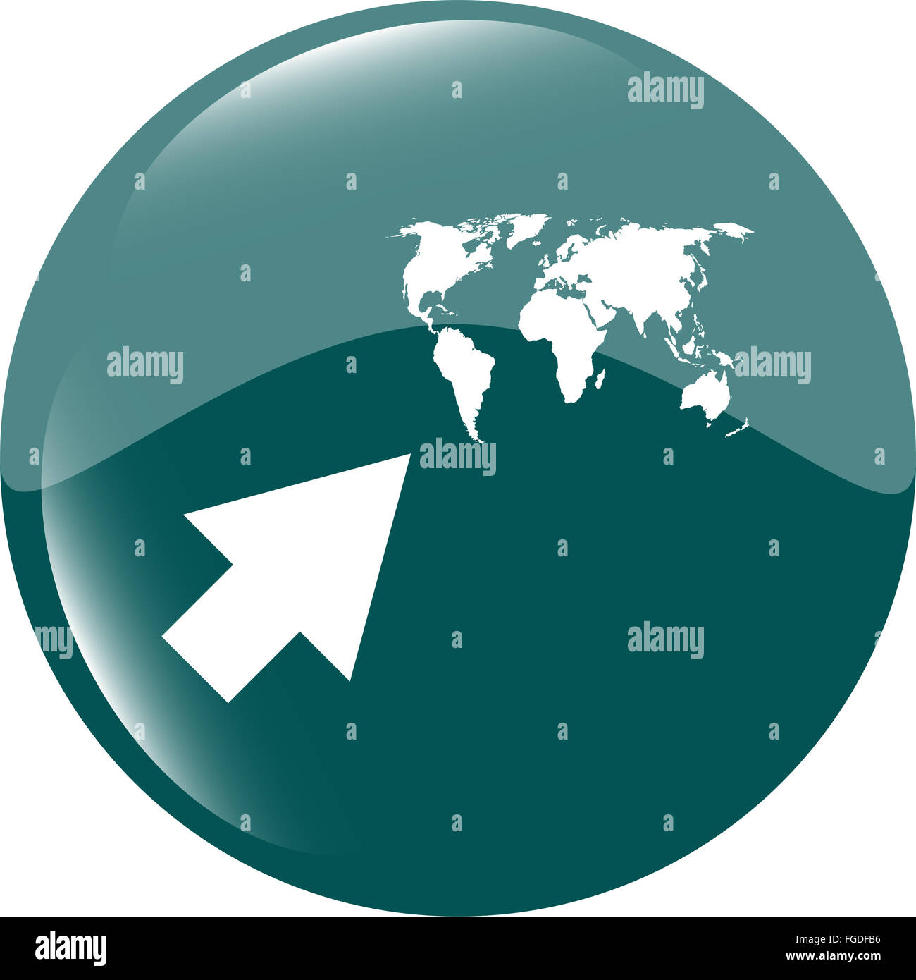 Arrow sign icon with world map sign arrows symbol icon for app arrow sign icon with world map sign arrows symbol icon for app web button gumiabroncs Image collections