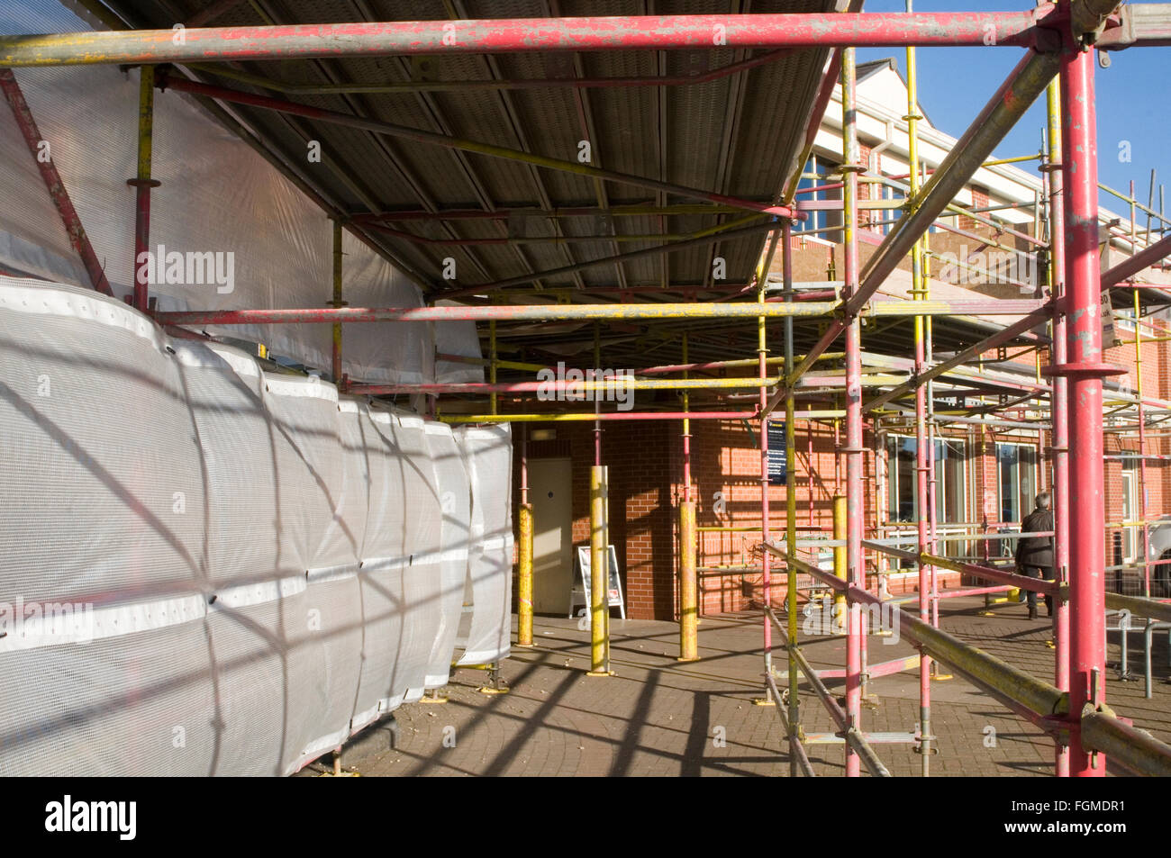 Scaffolding scaffold steel tube building work construction