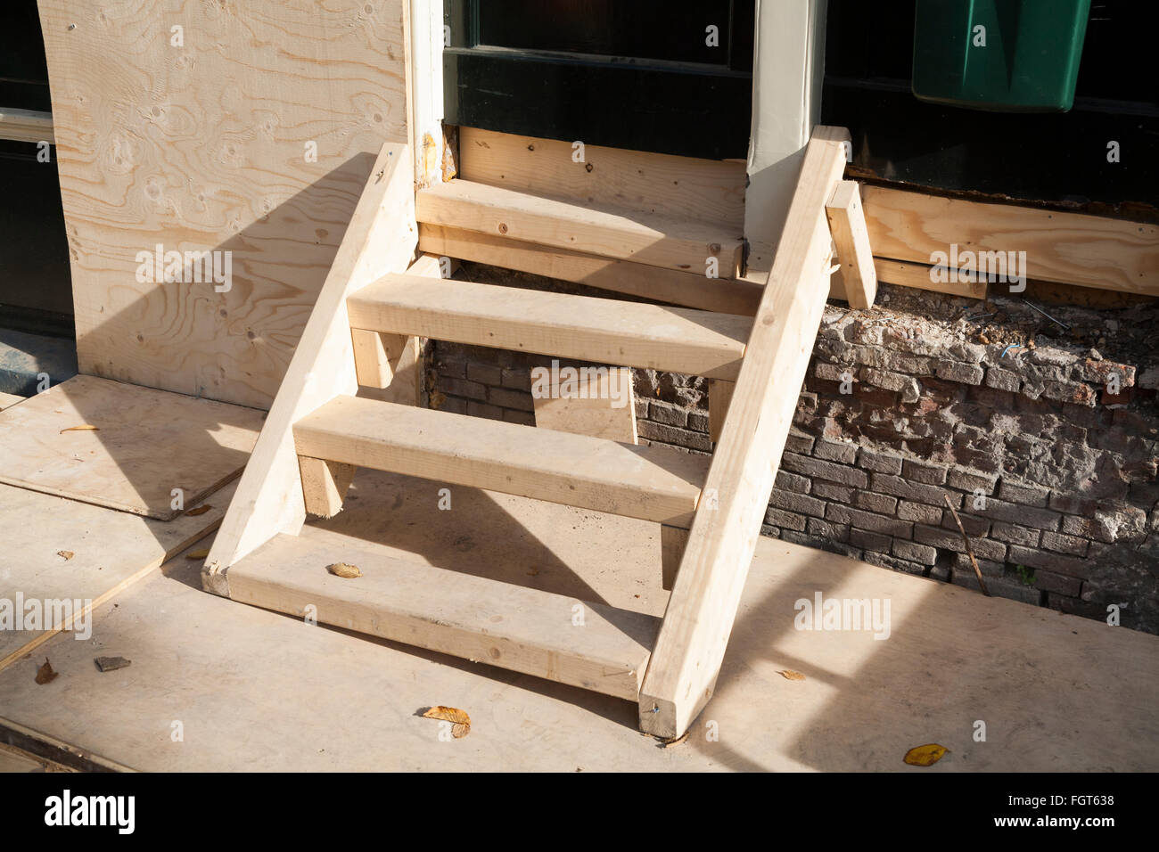 How To Build Stairs For A Mobile Home