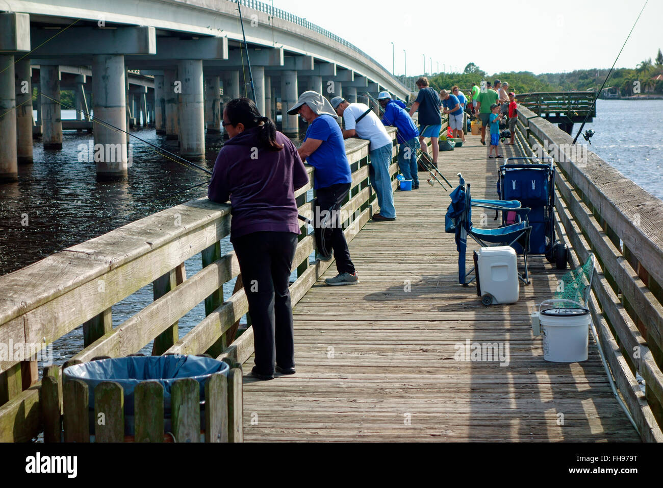 The el jobean fishing pier in port charlotte florida usa for Fishing piers in florida