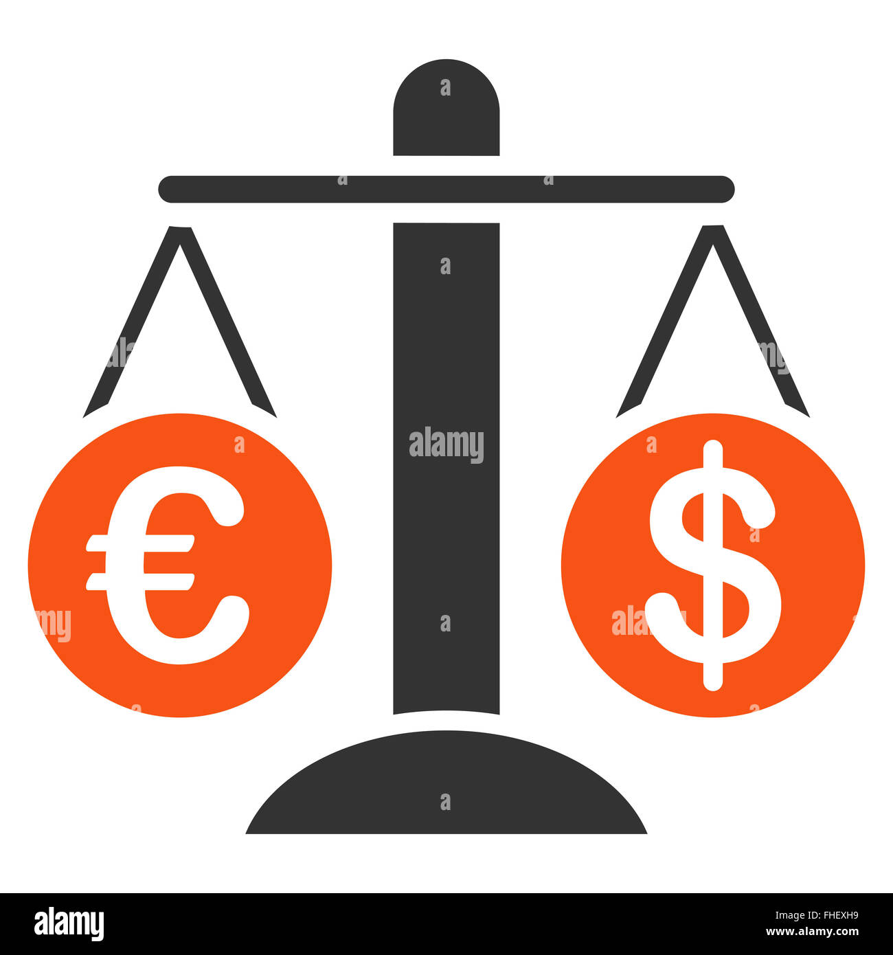 currency compare icon stock photo 96829189 alamy