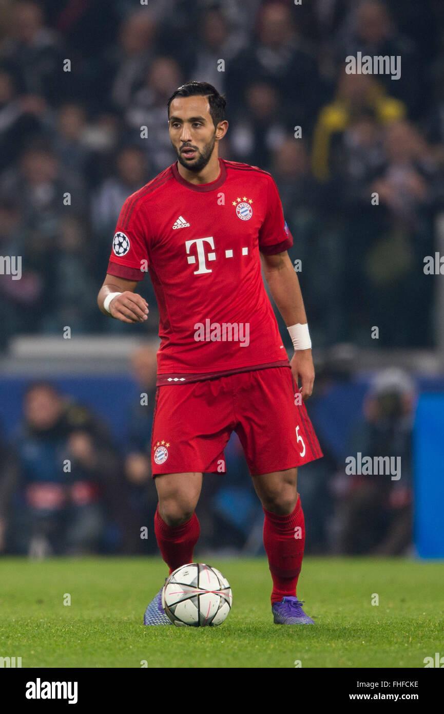 Mehdi Benatia Bayern FEBRUARY 23 2016 Football Soccer