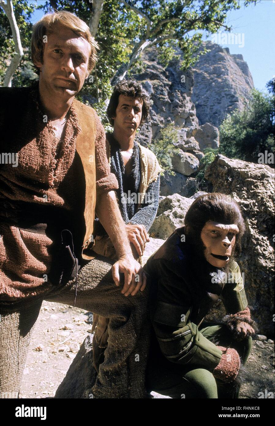 RON HARPER JAMES NAUGHTON & RODDY MCDOWALL PLANET OF THE APES