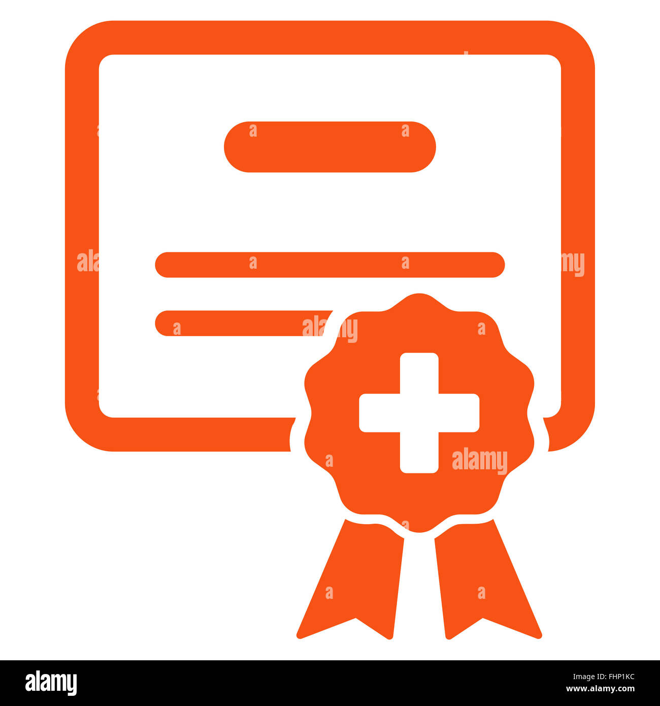 Medical Certification Icon Stock Photo Royalty Free Image 96985264