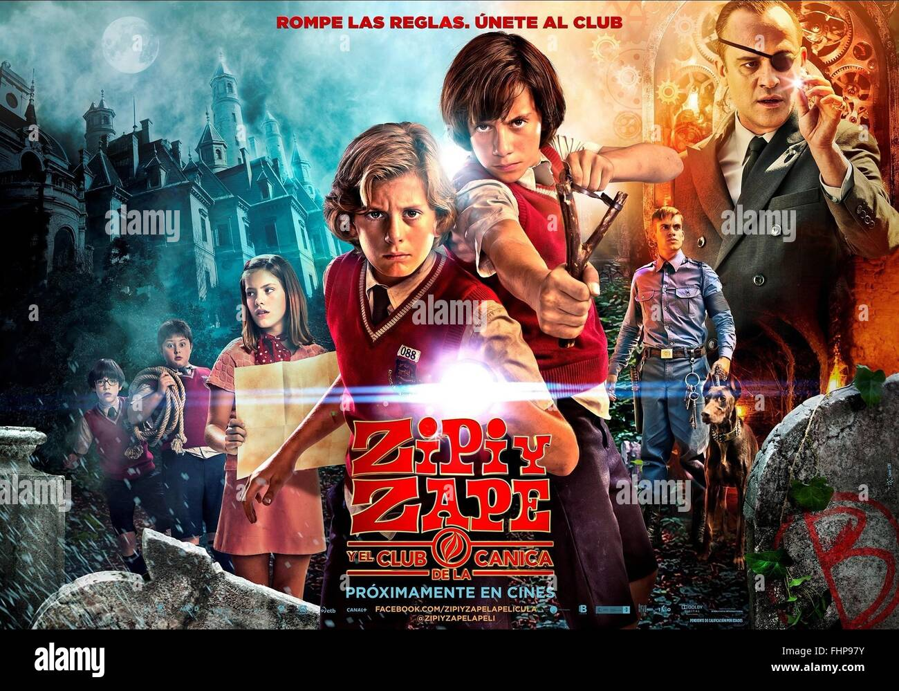 Movie Poster Zip Amp Zap And The Marble Gang Zipi Y Zape Y