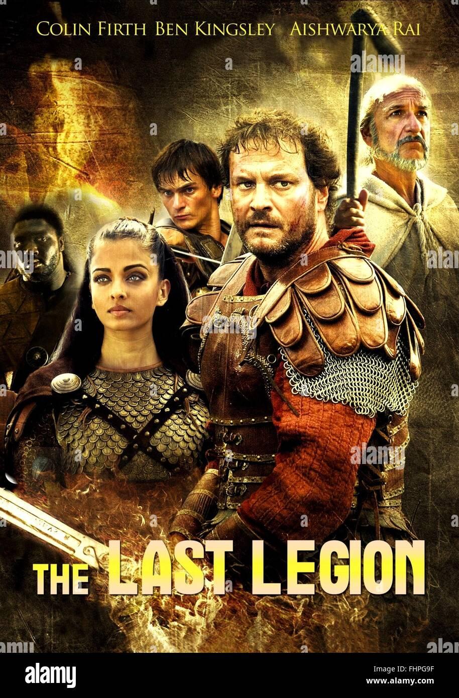 movie poster the last legion 2007 stock photo 96996747