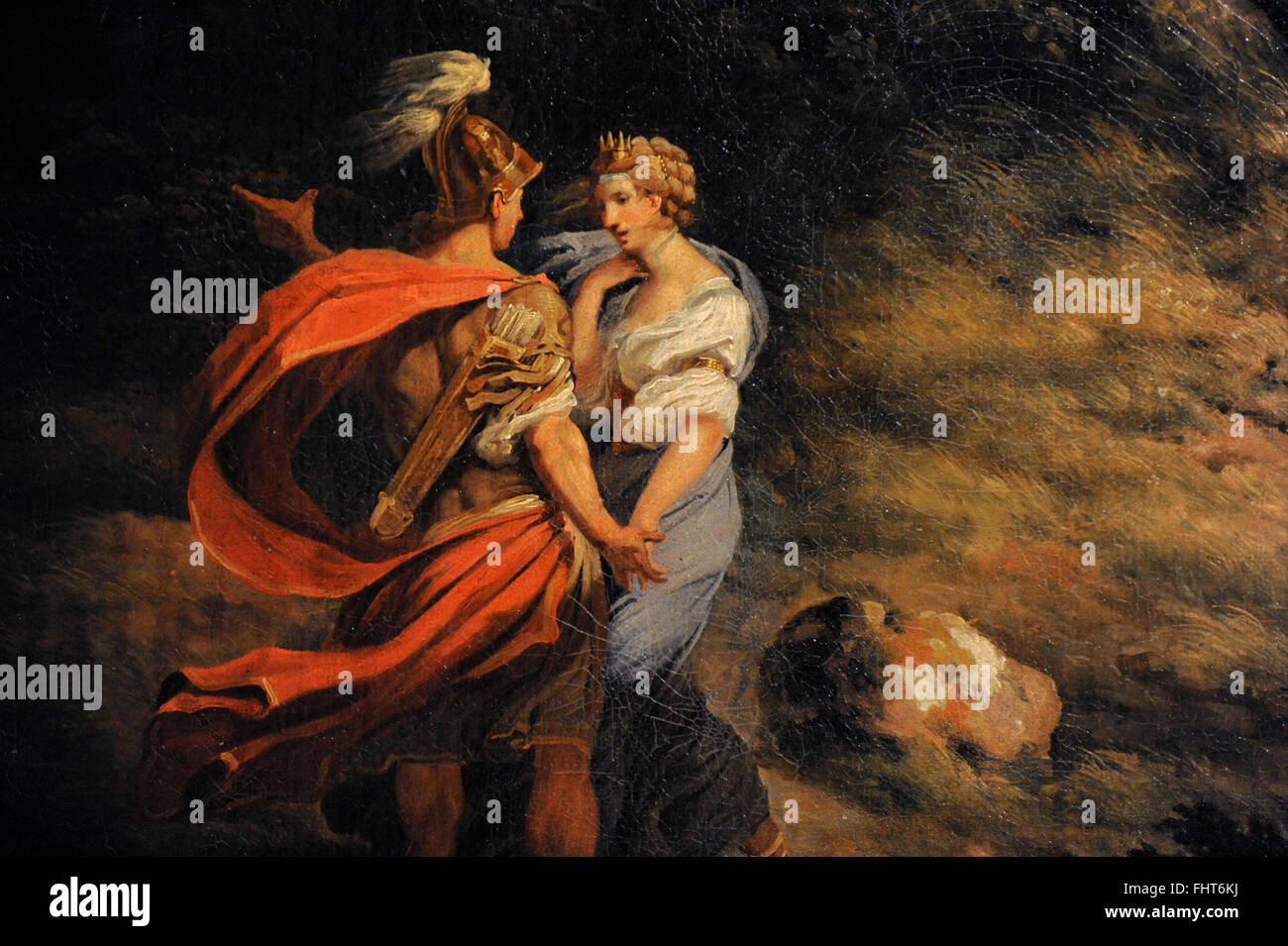 What is the relationship between Aeneas and Dido in the Aeneid?