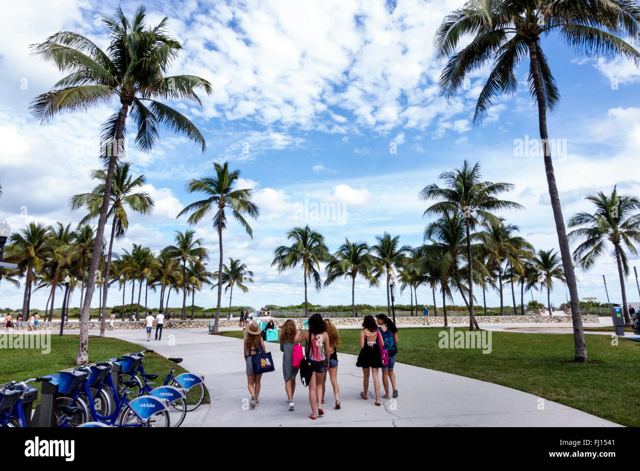 Citibike Station Miami Beach Fl