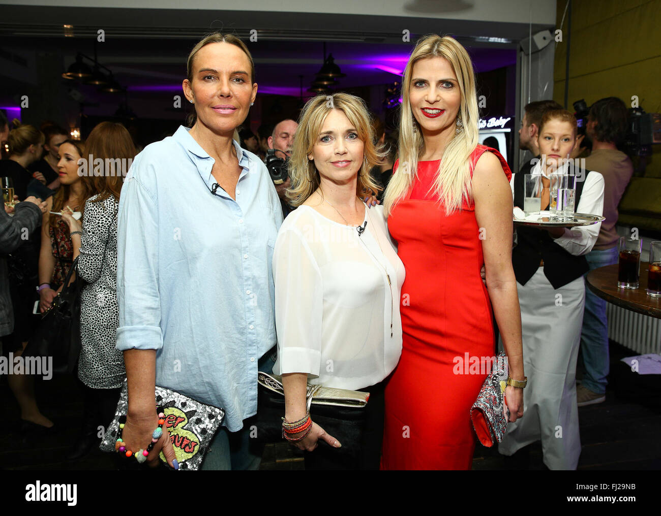 Soho house berlin party and red carpet arrivals in mitte featuring natascha ochsenknecht tanja buetler tina ruland where berlin germany when 28 jan