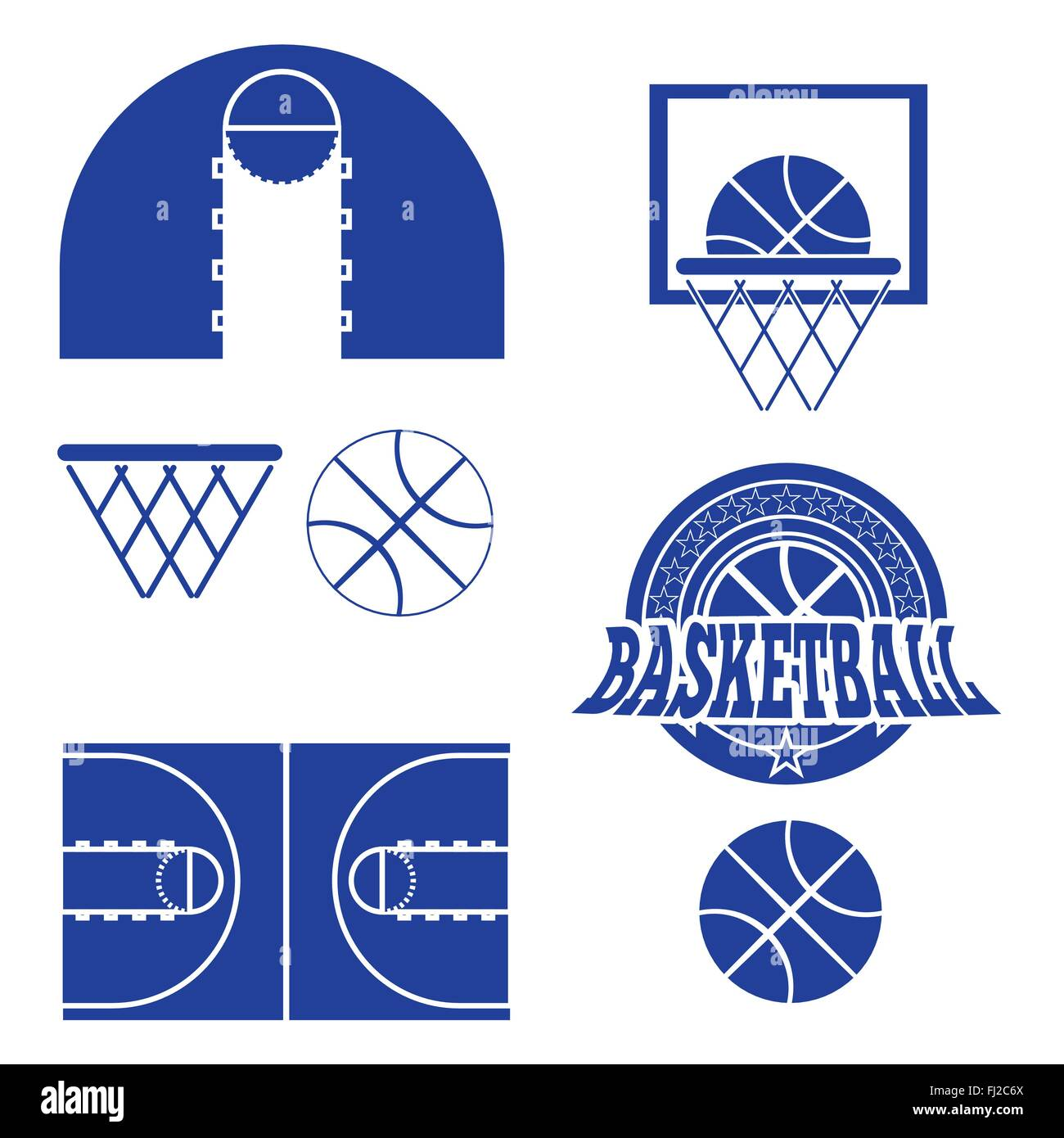 Basketball objects basketball ball in stars wreath type logo stock basketball ball in stars wreath type logo basketball play court design sports symbols blue and white spor buycottarizona Choice Image