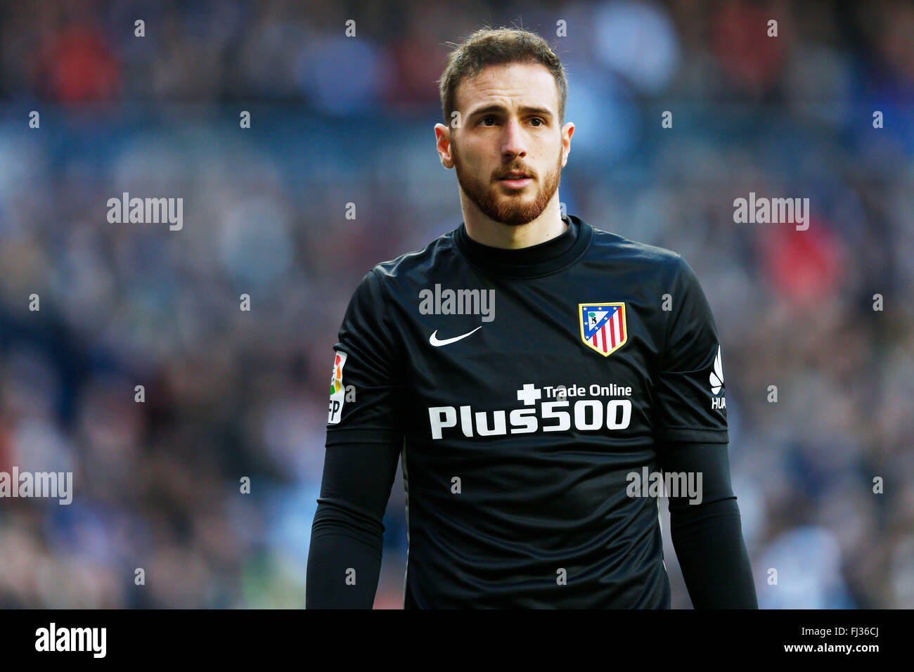 Jan Oblak Atletico FEBRUARY 27 2016 Football Soccer Spanish