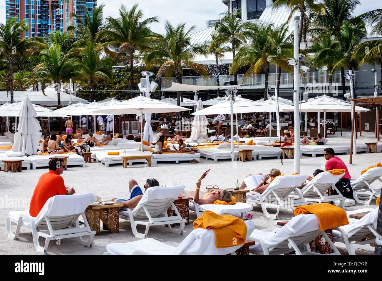 Miami beach florida nikki club restaurant lounge