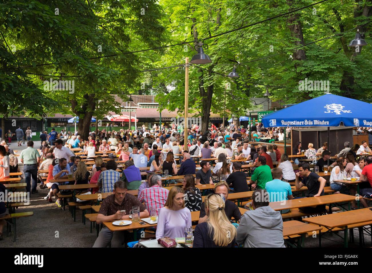 Augustiner Munich Beer Garden Garden Ftempo
