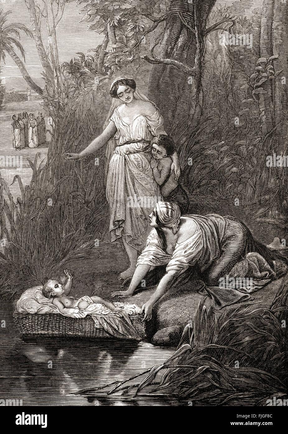 Moses and pharaoh s daughter interesting