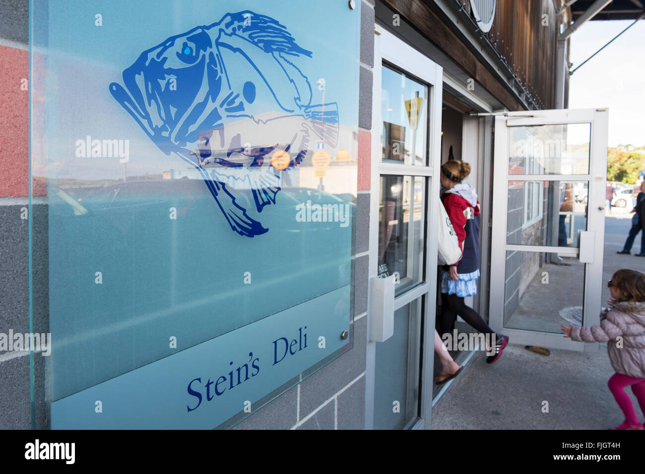 Rick Stein 39 S Deli In Padstow Cornwall Uk Stock Photo Royalty Free Image 97485825 Alamy