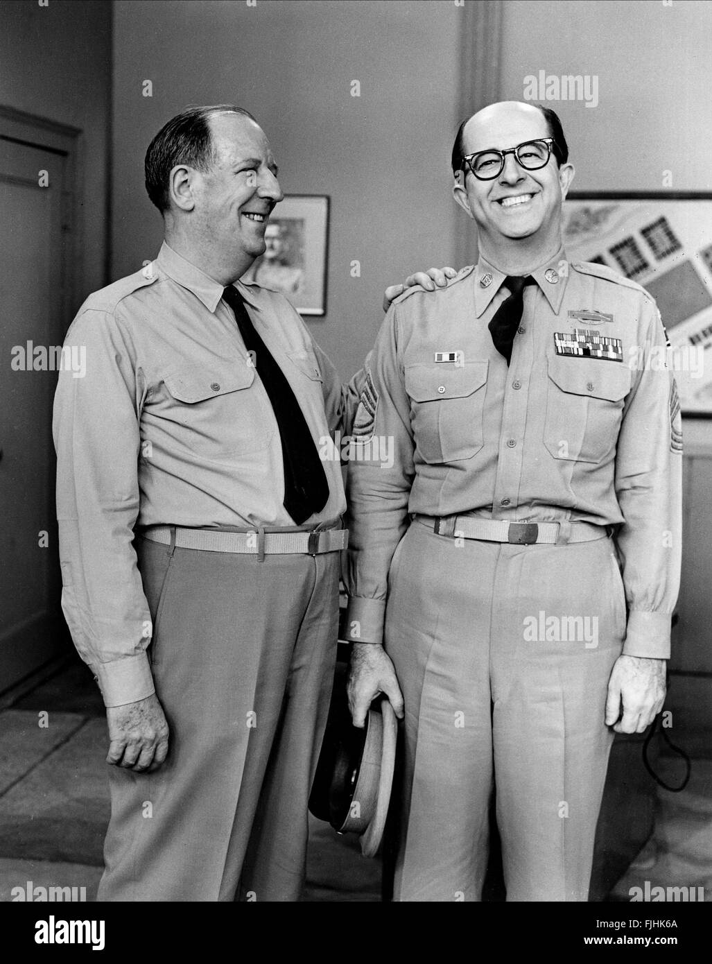PAUL FORD & PHIL SILVERS THE PHIL SILVERS SHOW SERGEANT BILKO