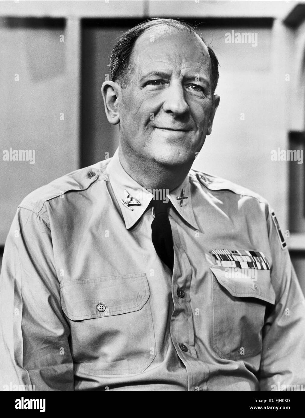 Paul ford the phil silvers show sergeant bilko 1955 stock image