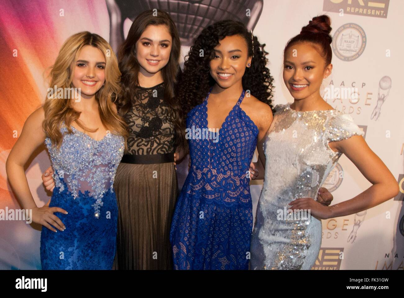 Cast Members Of Project Mc2 At The 47th Naacp Image Awards