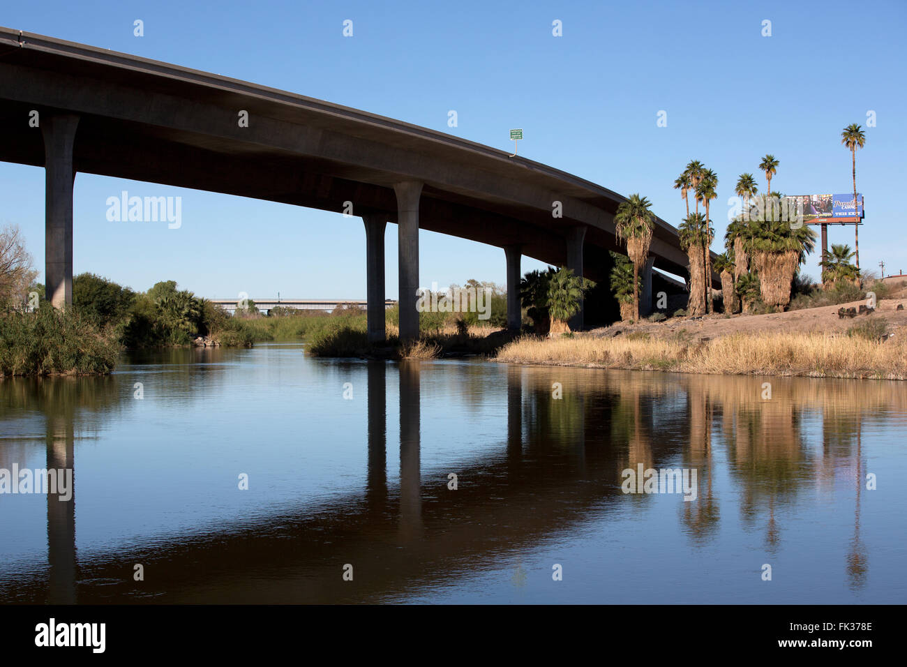 Colorado river yuma arizona usa stock photo royalty for Landscaping rocks yuma az