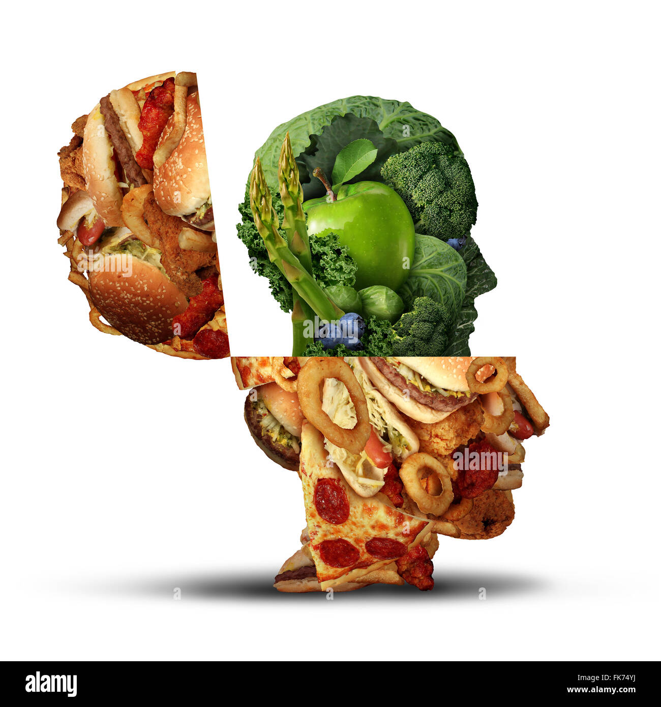 nutrition change healthy lifestyle concept changing bad