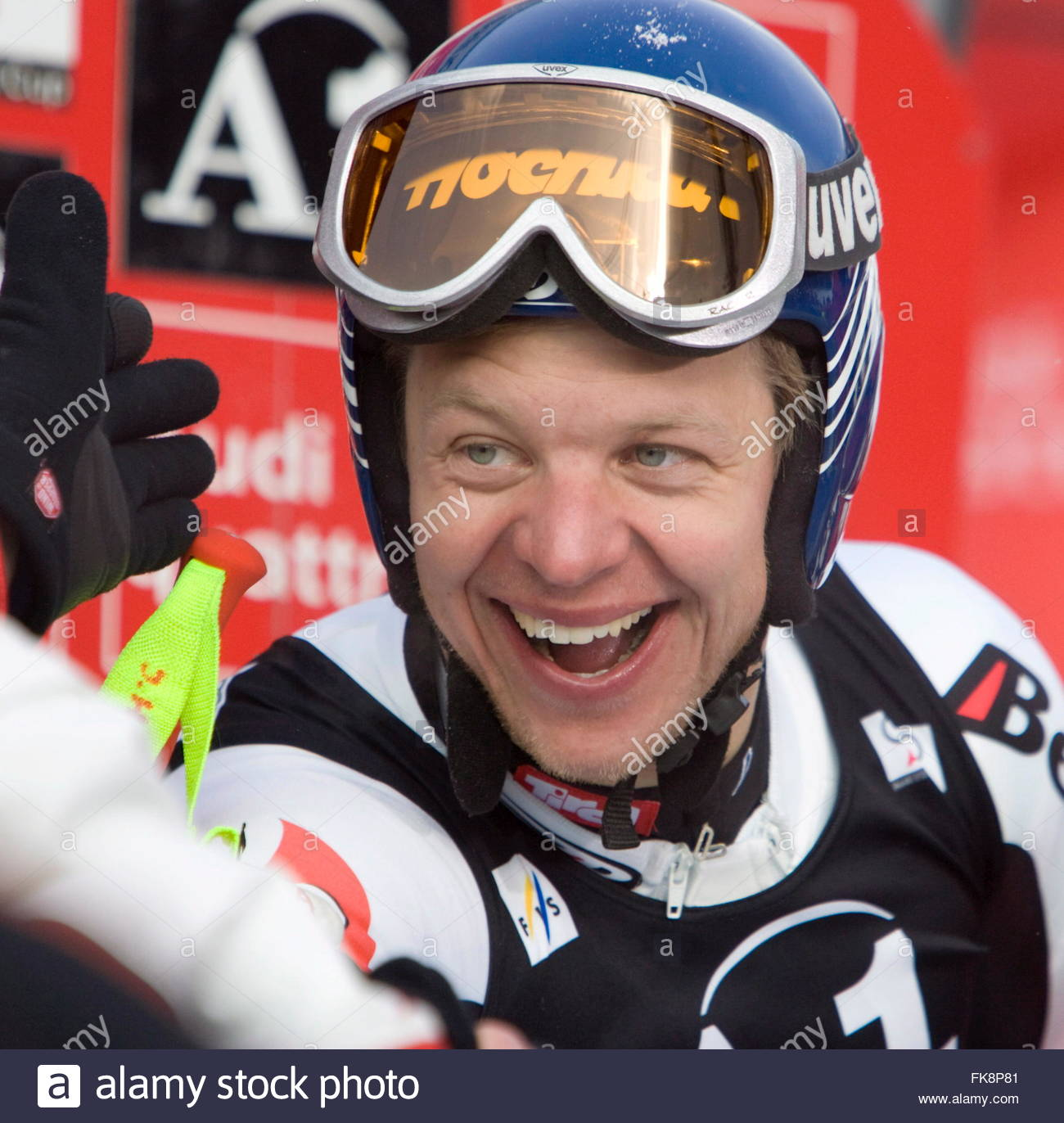 Andreas Buder of Austria smiles after his <b>third place</b> finish at the Men's ... - andreas-buder-of-austria-smiles-after-his-third-place-finish-at-the-FK8P81