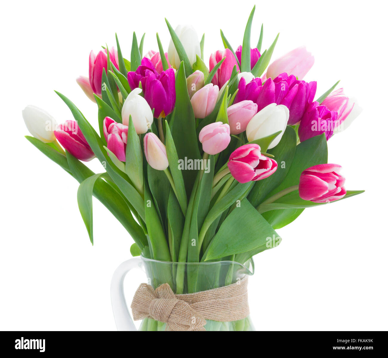 Bouquet of pink purple and white tulips stock photo royalty free stock photo bouquet of pink purple and white tulips dhlflorist Image collections